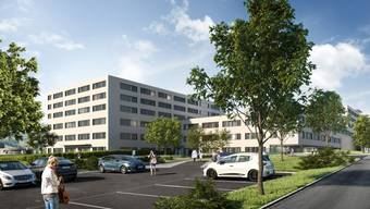 Mehr und vor allem kleinere Zimmer wird es im neuen Pflegezentrum geben. Die Eröffnung ist voraussichtlich im Jahr 2023.
