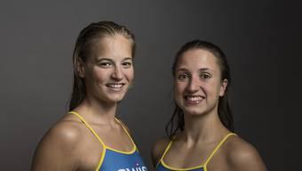 Sascia Kraus (links) und Sophie Giger sind in Rio de Janeiro im 14. Zwischenrang klassiert