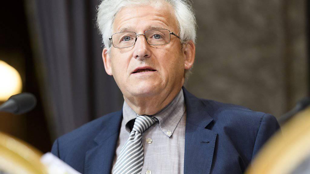 Der Berner Ständerat Hans Stöckli (SP) will 2019 noch einmal antreten und im darauf folgenden Jahr Ständeratspräsident werden.