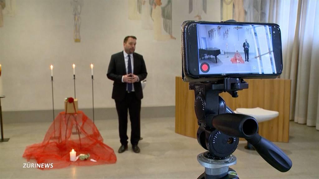 Bestattung als Livestream: Abschied nehmen in Zeiten von Corona