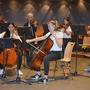 Das Streicherensemble der Musikschule Bettlach spielte anspruchsvolle Stücke.