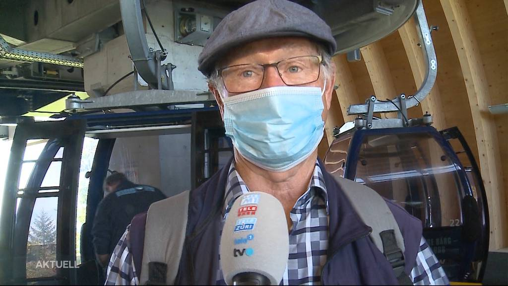 Wie kommt Maskenpflicht bei Gondelbahn-Fahrgästen an?