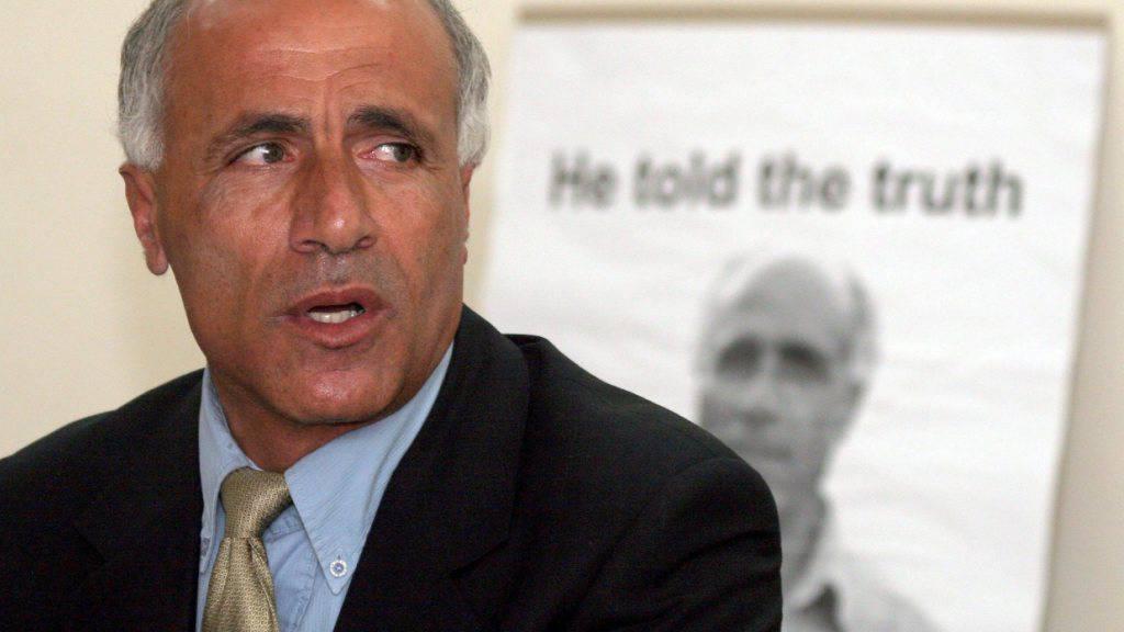 Atom-Whistleblower Mordechai Vanunu in Jerusalem vor Journalisten. (Archivbild aus dem Jahr 2005)