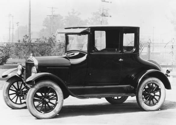 Mit dem Ford Modell T begann die Massenproduktion des Autos. Bild: zvg