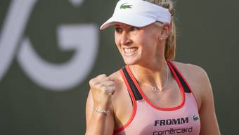 Zweiter WTA-Final perfekt: Jil Teichmann ballt die Siegerfaust