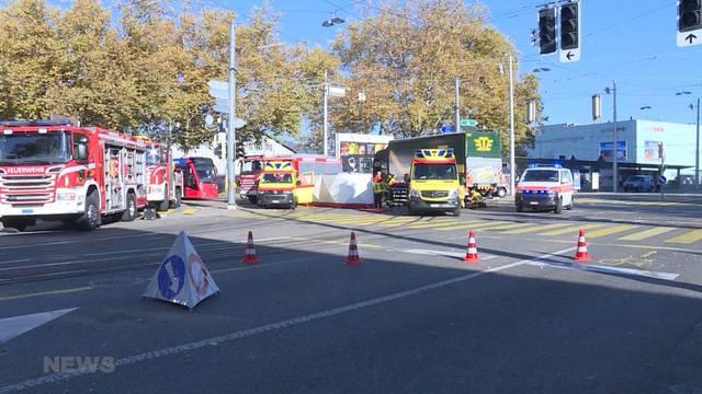 Unfall am Guisanplatz