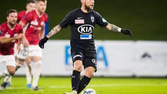 Markus Neumayr brachte Aarau in Nyon gegen Stade Lausanne-Ouchy in Führung