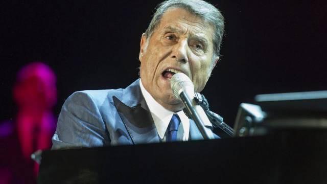 Udo Jürgens bei einem Konzert in Salzburg Anfang Dezember.
