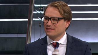 Premiere mit Krawatte: Politikwissenschaftler Lukas Golder.