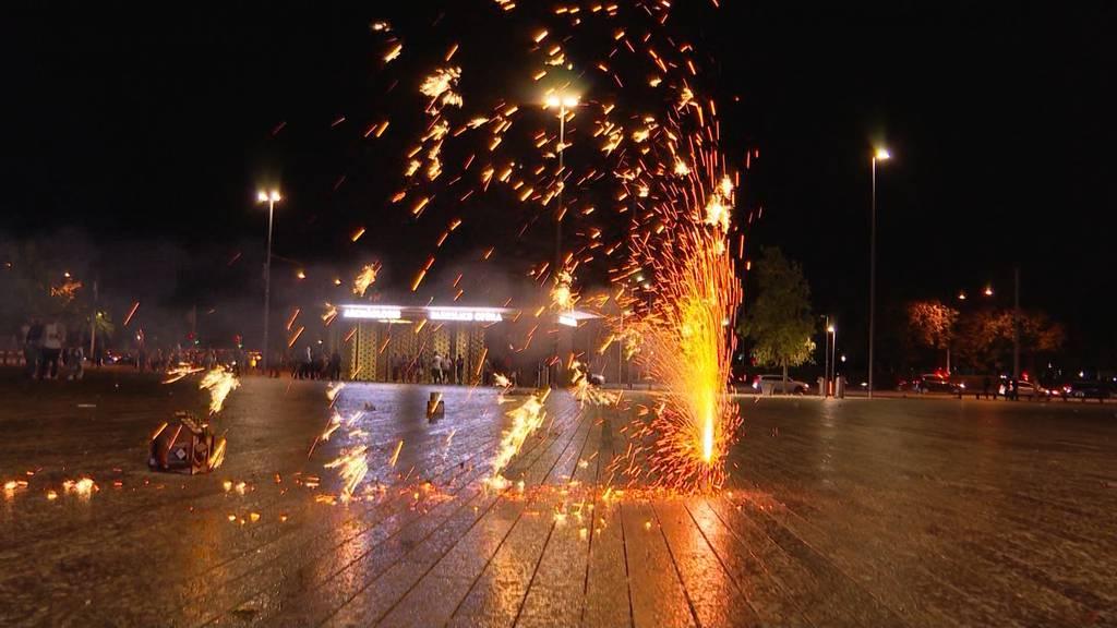 Private Feuerwerke: So feierten die Zürcher den 1. August