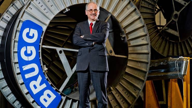 Thomas F. Hauser, CEO Brugg Cables (Kabelwerke Brugg AG Holding)