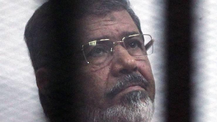 Starb am Montag bei einem Auftritt vor Gericht: der frühere ägyptische Präsident Mohammed Mursi. (Archivbild)