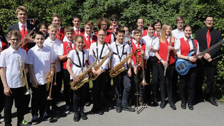 Das Spiel der Jugendmusik Allegro Region Baden (Leitung: Daniel Joël Bolt)