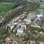Die flächenmässigen Dimensionen der ehemaligen Sappi-Papierfabrik werden erst aus der Luft ersichtlich. (Archiv)