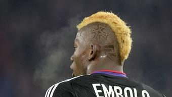 Breel Embolo mit neuer ungewohnter Haarpracht.