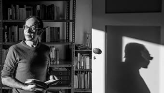 Hat die Liebe zu Büchern schon in Kinderjahren entdeckt: Walter Eckstein in seinem Zuhause in Wolhusen.