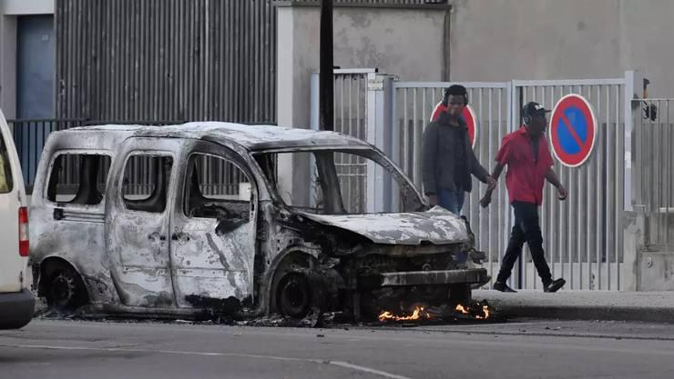 In Dijon ist es zu Strassenschlachten gekommen.