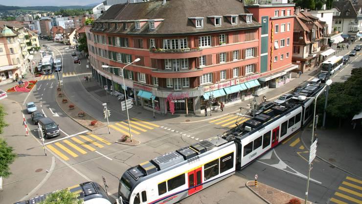 Das Zentrum von Dietikon: SP-Gemeinderat möchte der Verödung des Ortes entgegenwirken