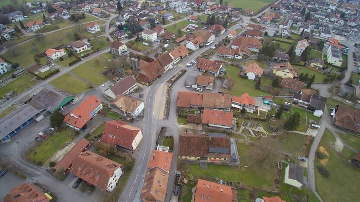 2017 wurden in Lostorf 2 Einfamilienhäuser und 9 Mehrfamilienhäuser bewilligt.