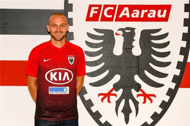 Marco Schneuwly soll dem FC Aarau mit seinem Torinstinkt helfen.