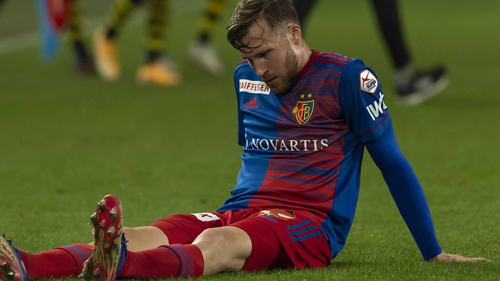 FC Basel muss einige Wochen auf Widmer verzichten