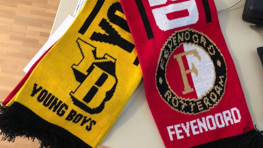 Der niederländische Fussballverein Feejenord Rotterdam trifft am Donnerstagabend auf die Berner Young Boys.