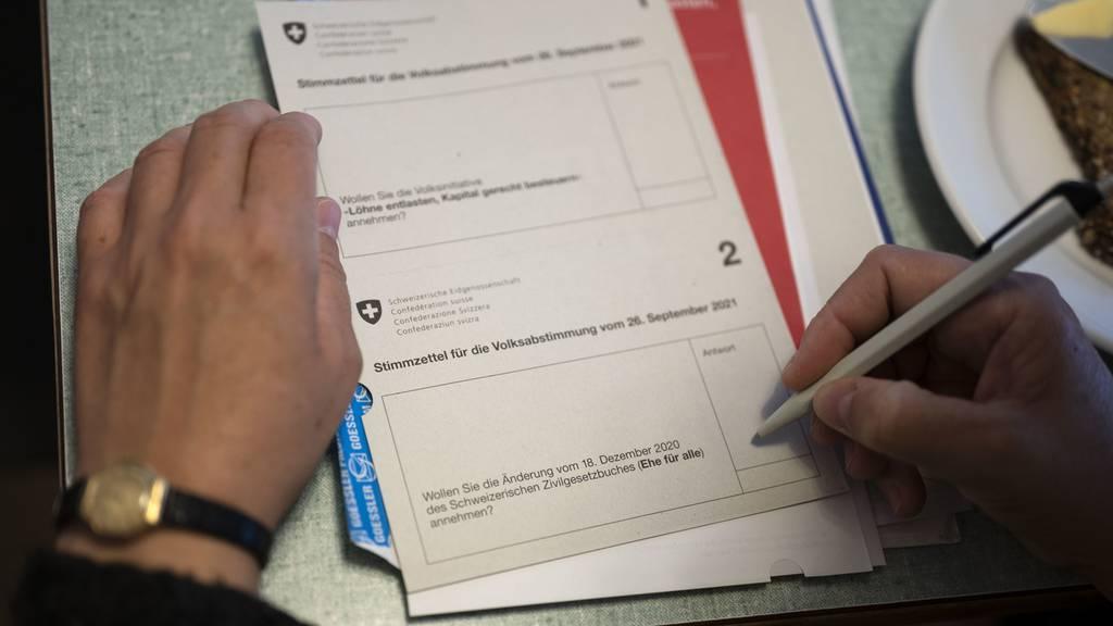 Abstimmungen September 2021