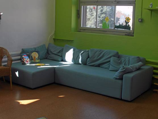 Atmosphäre wie zu Hause im Wohnzimmer.