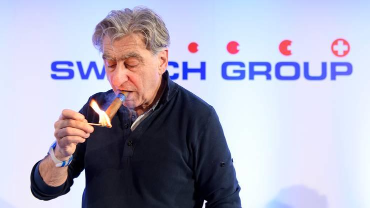 Vor der Coronakrise waren die Zahlen noch erfreulich: Nick Hayek, CEO der Swatch Group.