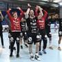 Impressionen vom Cup-Halbfinal des HSC Suhr Aarau auswärts bei GC Amicitia