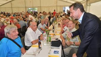 Treffen der Verdingkinder in Mümliswil