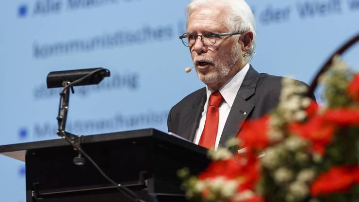 Tony Broghammer, Präsident der Gemeinschaft Solothurnischer Alters- und Pflegeheime.