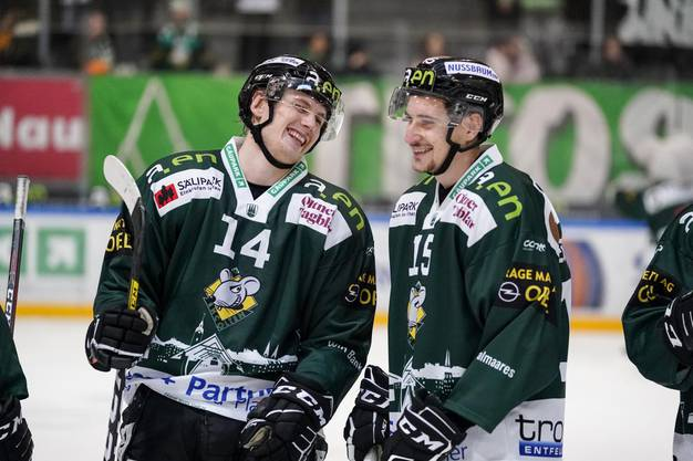 Freude bei Esbjörn Fogstad Vold und Riccardo Sartori.