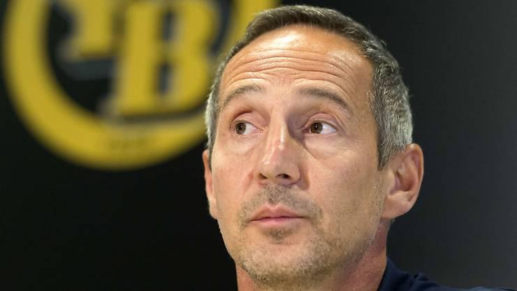 Fordert zum Auftakt der neuen Super-League-Saison mit seinem Team den Dauermeister aus Basel: YB-Cheftrainer Adi Hütter