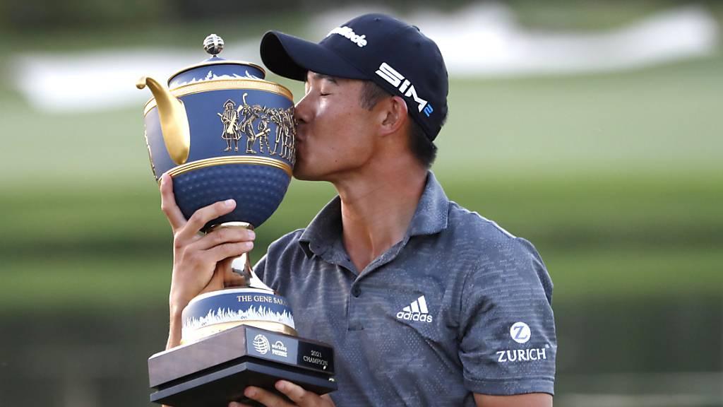 Collin Morikawa feierte den zweiten grossen Sieg seiner Karriere