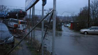 Im Dietiker Gewerbegebiet im Raum Bodackerstrasse/Überlandstrasse fand die Grosskontrolle statt.
