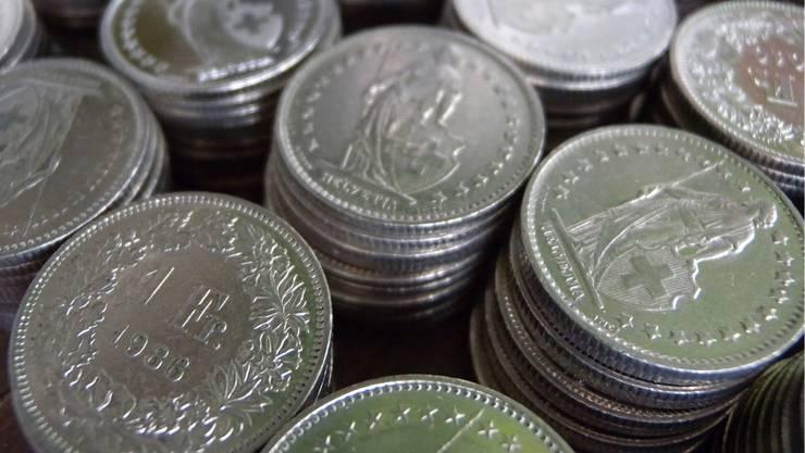 Nicht bei jedem Solothurner stapelt sich das Geld: Rund 40 Prozent der Steuerpflichtigen weisen kein Reinvermögen aus. (Archiv)
