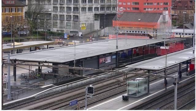 Mit der neuen Verbindung gewinnt der Bahnhof Wettingen weiter an Bedeutung. DM