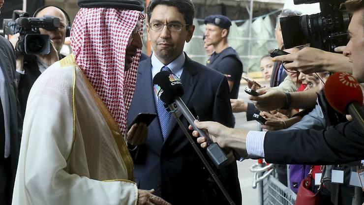 """Der saudische Energieminister Khalid Al-Falih am """"Opec+""""-Treffen in Wien, an dem sich 24 Staaten auf eine Verlängerung des Erdöl Förderlimits geeinigt haben."""