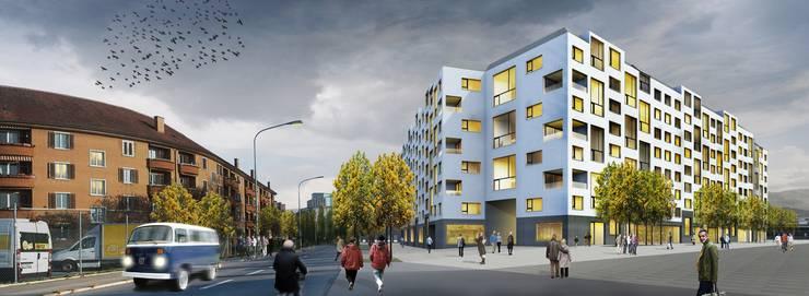 Beim Areal Hardturm werden auch neue Wohnungen gebaut