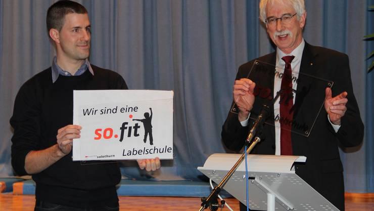 «Grosse Klasse» – Klaus Fischer lobt das Angebot.