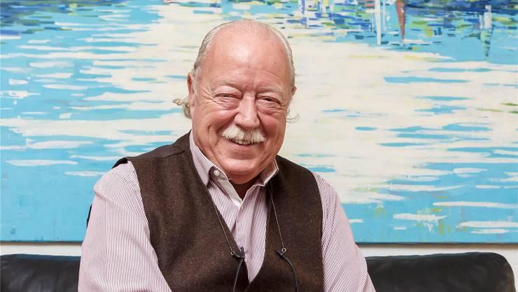 Rolf Studer, Verwaltungsrats-Vizepräsident der Seilbahn Weissenstein.
