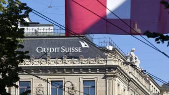 Die Credit Suisse am Paradeplatz in Zürich (Themenbild).