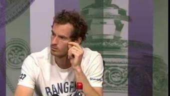 Andy Murrays gute Tat gegen Sexismus im Sport: Der Schotte unterbricht die Frage eines Reporters und korrigiert ihn, weil er das Frauen-Tennis ignoriert.