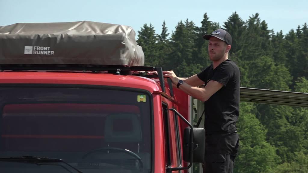 Vanlife anders: Aus einem Feuerwehrauto wird ein Camper