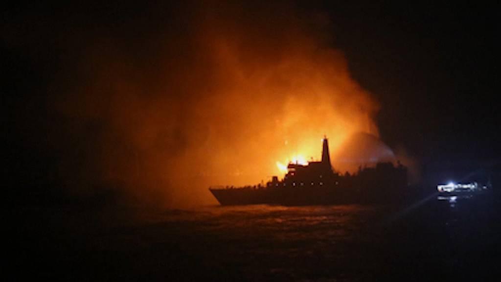 Brand auf Öltanker vor Sri Lanka nicht gelöscht - Lage unklar