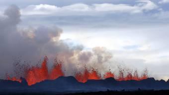 Rekord-Vulkan: Die Eruption des Vulkans Bardarbunga war die heftigste in Europa seit mehr als 240 Jahren. (Archivbild)