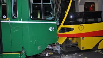 Tram-Kollision in Basel