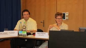 Kantonsingenieur Oliver Jacobi und Regierungsrätin Sabine Pegoraro zogen zuletzt alles andere als am gleichen Strang.