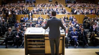 Die Genfer FDP-Parteibasis stellte sich hinter Pierre Maudet.